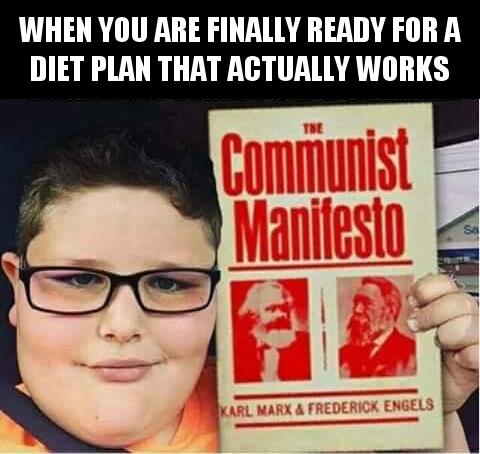 communism is a good diet plan